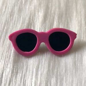 🔮5/$25 80s Vintage Pink Sunglasses Pin